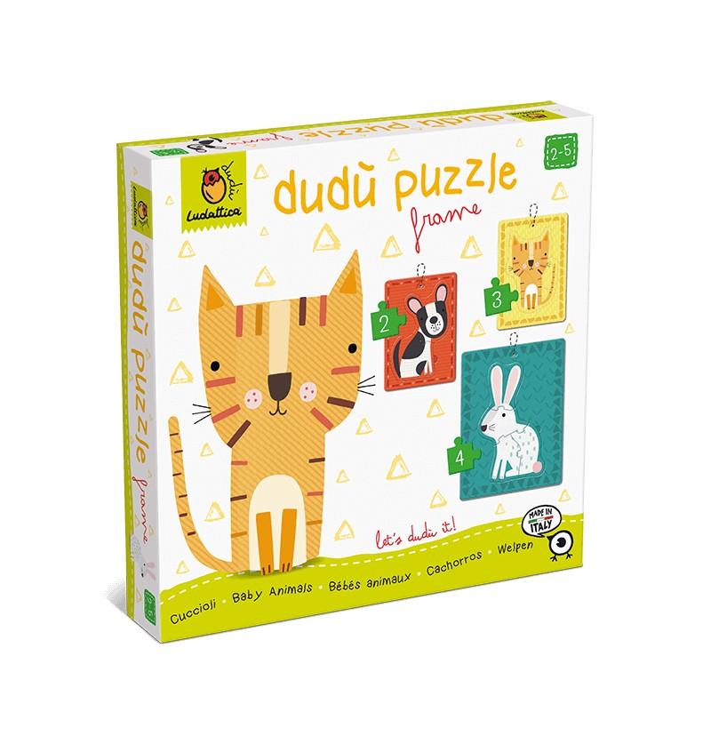 Dudù Puzzle Frame Cuccioli