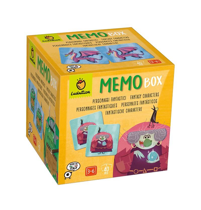 Memo Box Personaggi Fantastici
