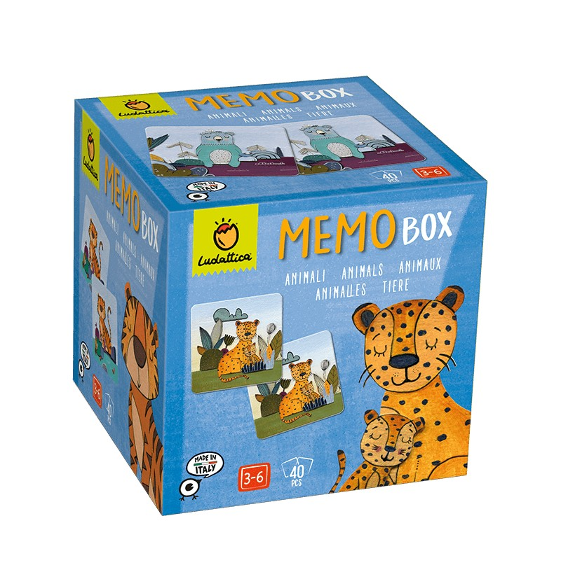 Memo Box Animali