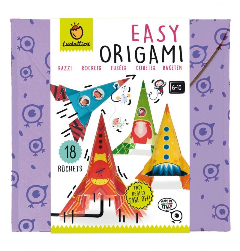 Easy Origami Razzi