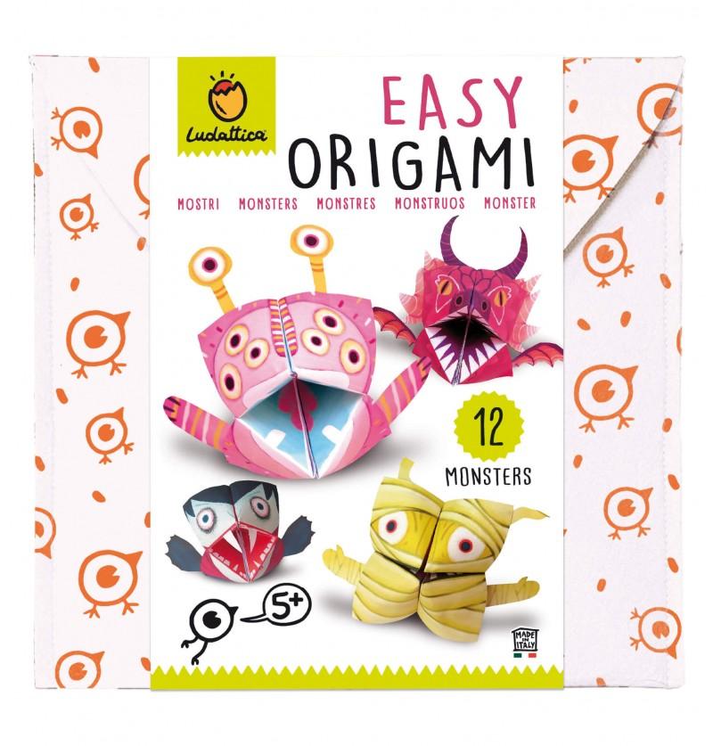 Easy Origami Mostri