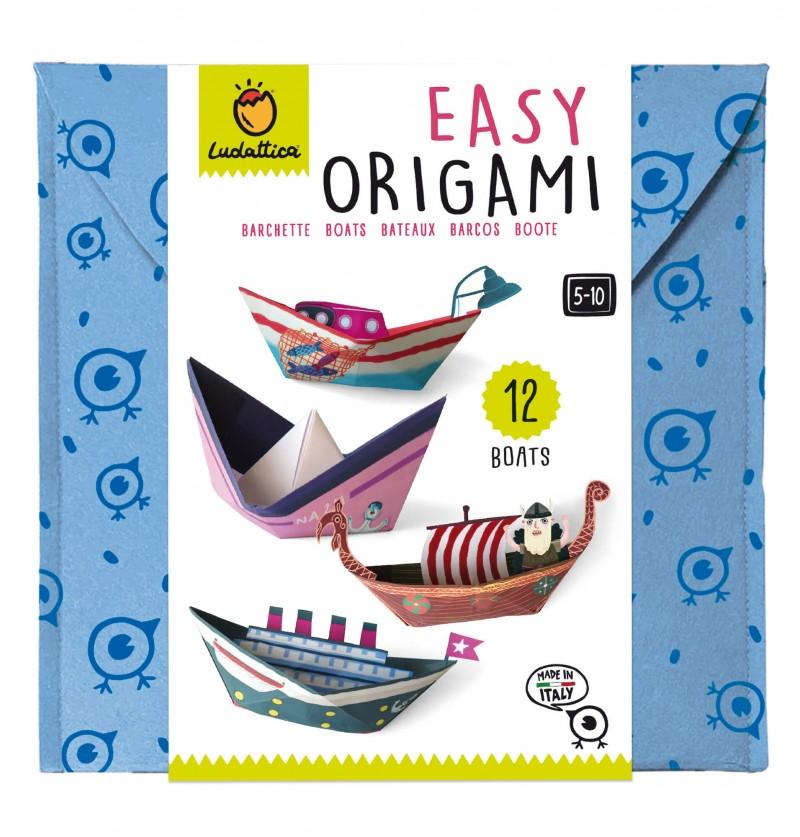 Easy Origami Barchette