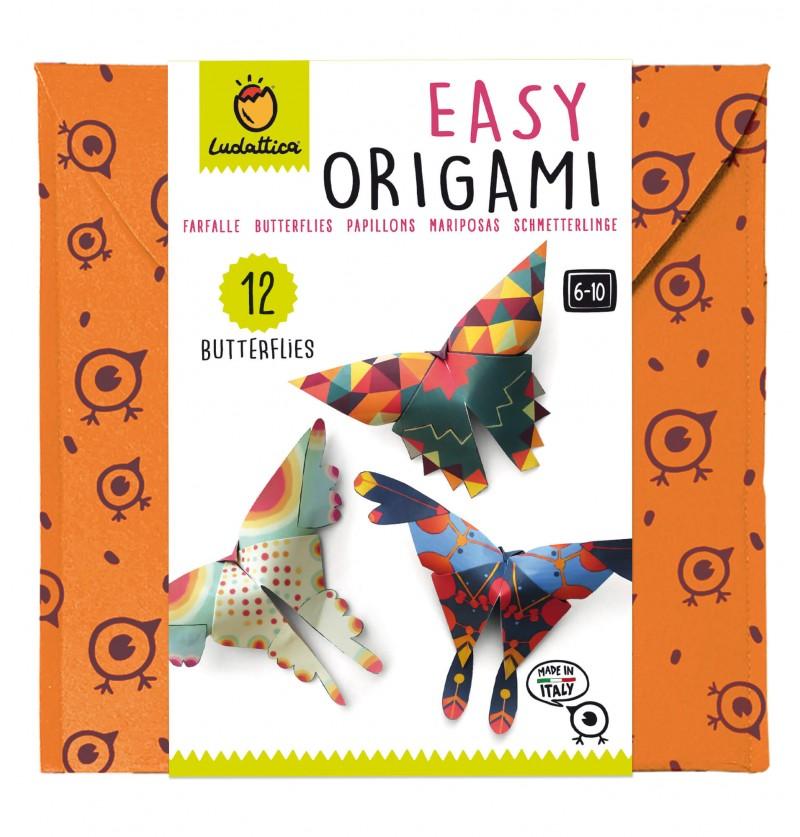 Easy Origami Farfalle