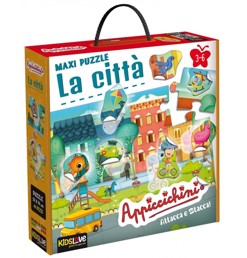 Maxi Puzzle La Città