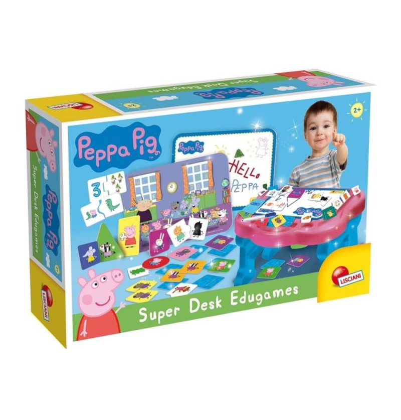 Peppa Pig- Super Desk Edugames