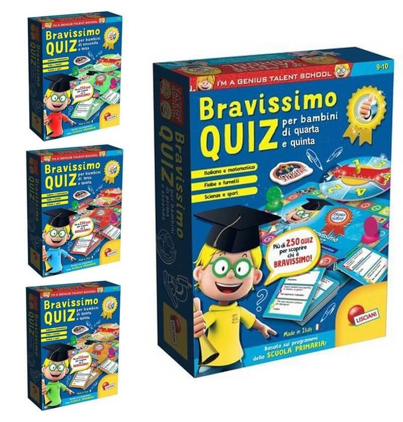I'M  A Genius Bravissimo Quiz